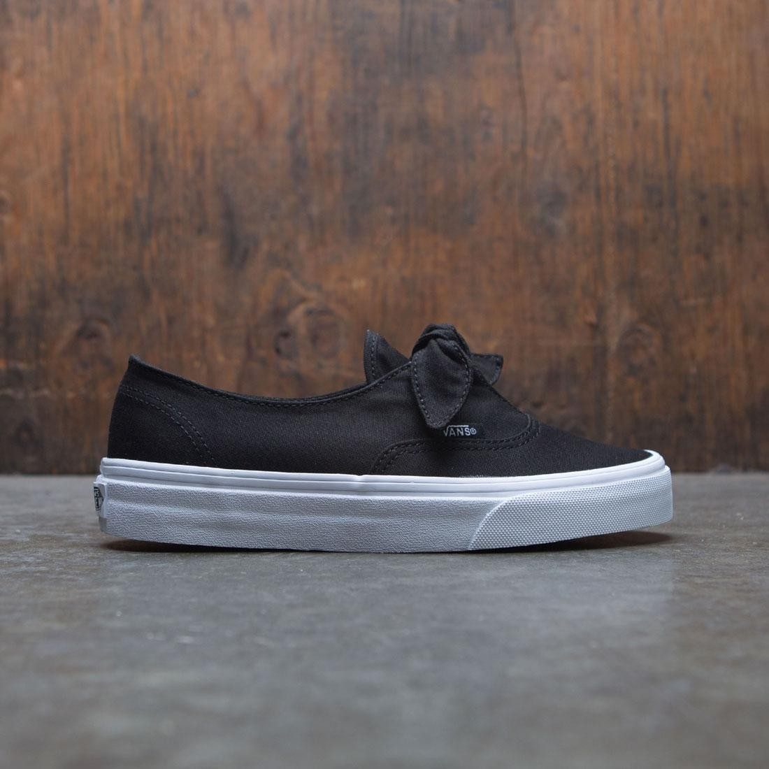 Vans Women Authentic Knotted black white