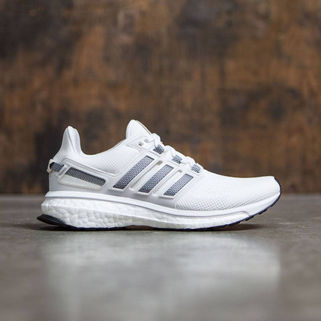 5318c6614 Adidas Women Energy Boost 3 white charcoal solid grey crystal white