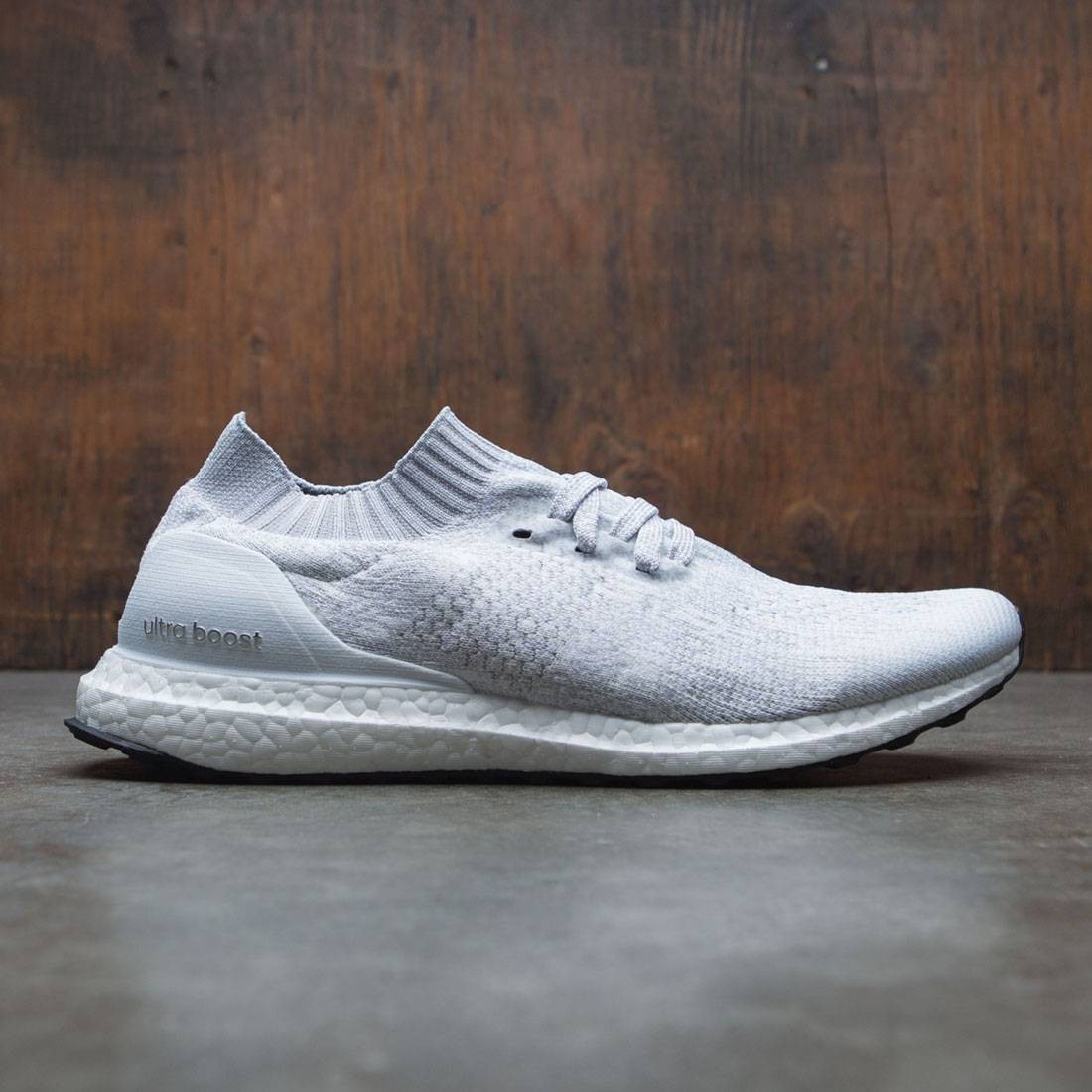 72df3aecad21 Adidas Men UltraBOOST Uncaged white white tint core black