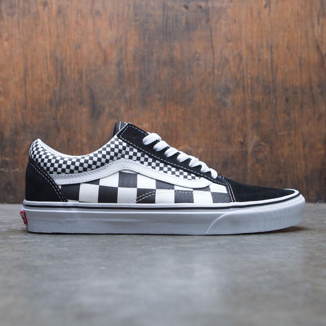 cc70280243f Vans Men Old Skool - Mixed Checkerboard black checkerboard