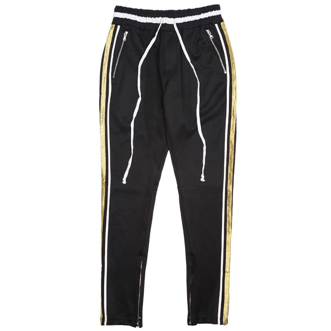 Lifted Anchors Men Jenner Track Pants - BAIT Exclusive (black / white / gold)