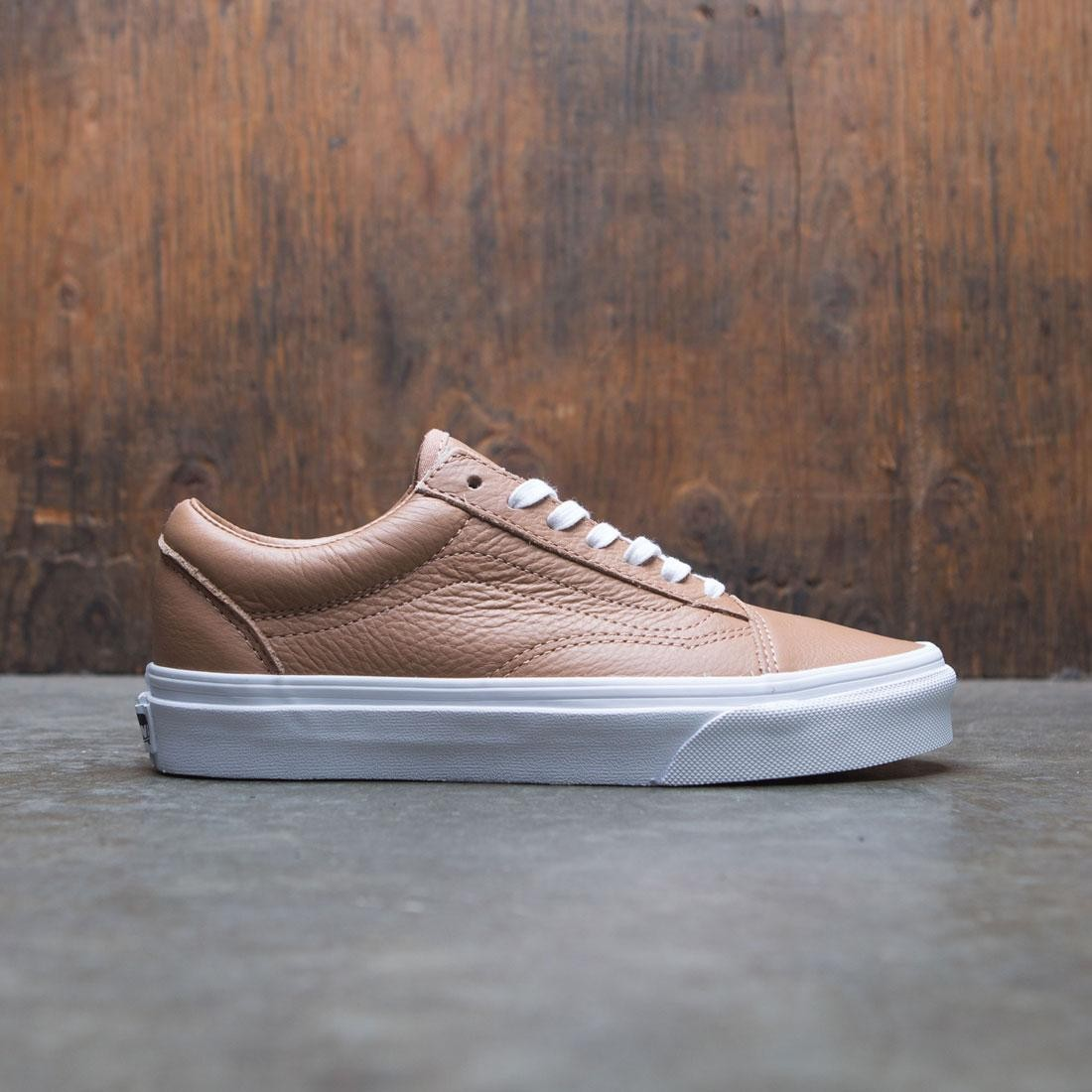 Vans Women Old Skool - Tawny Leather brown true white c821f7dca