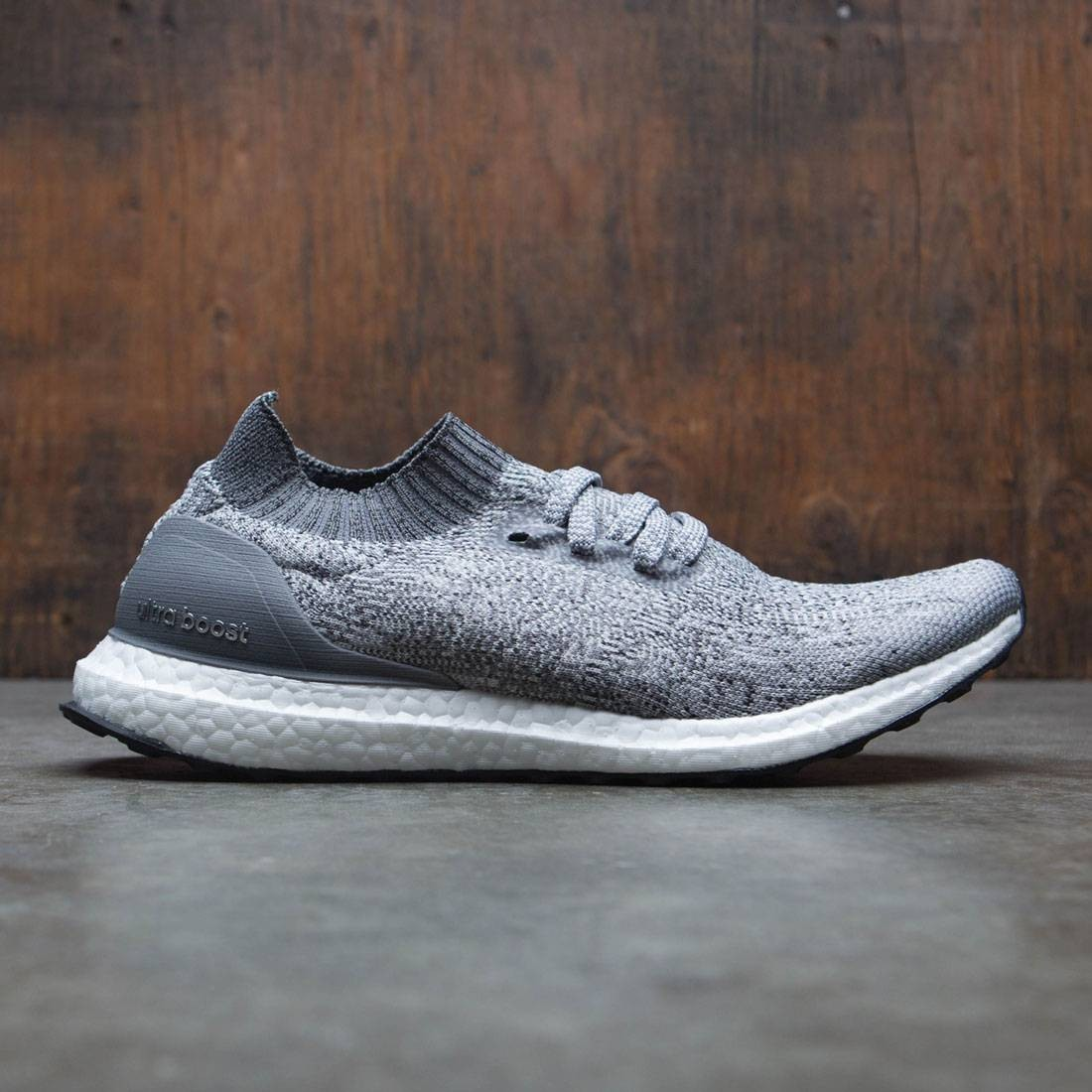 a332d897a26cb Adidas Men UltraBOOST Uncaged gray grey two grey four