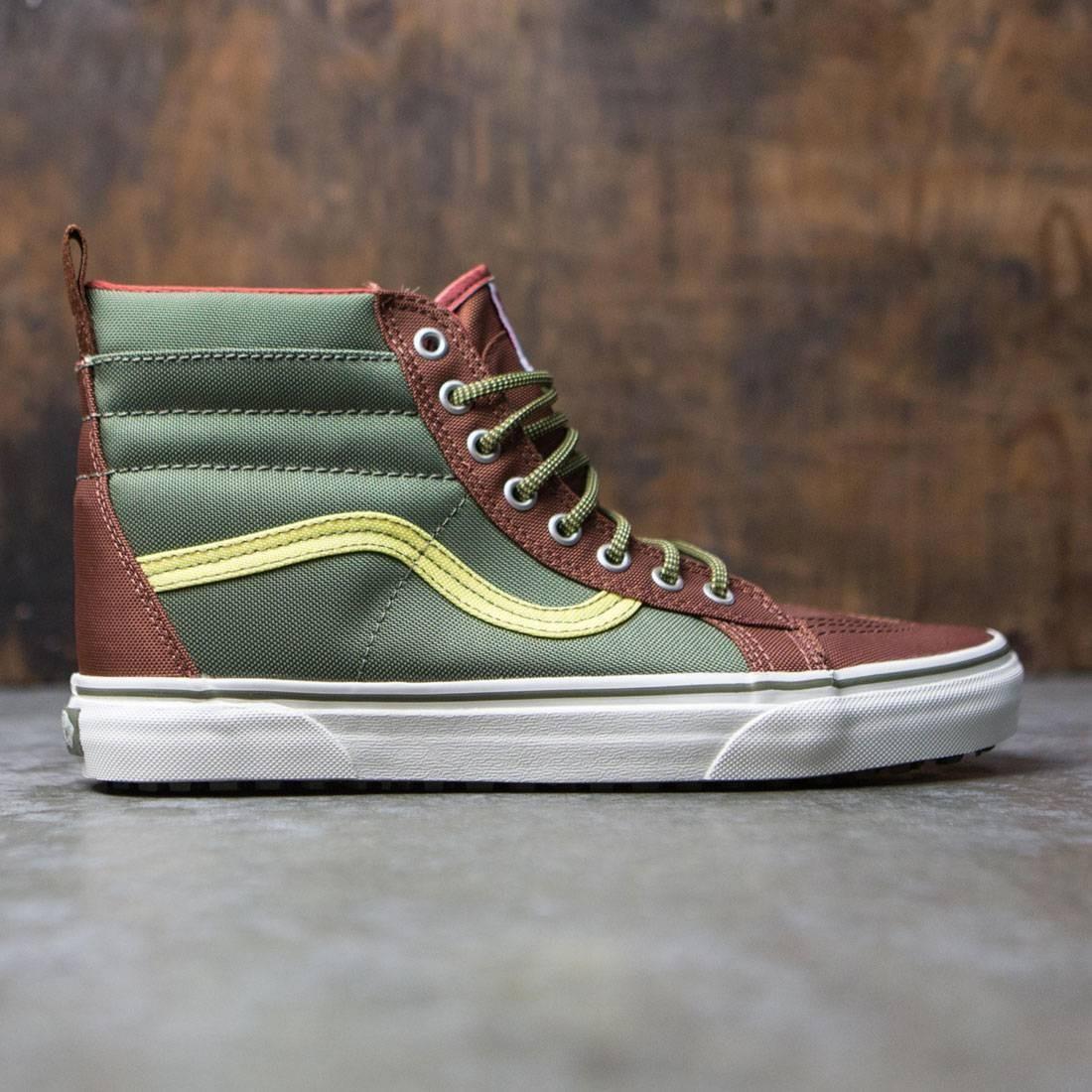 Vans Men Sk8-Hi MTE Dx green ballistic