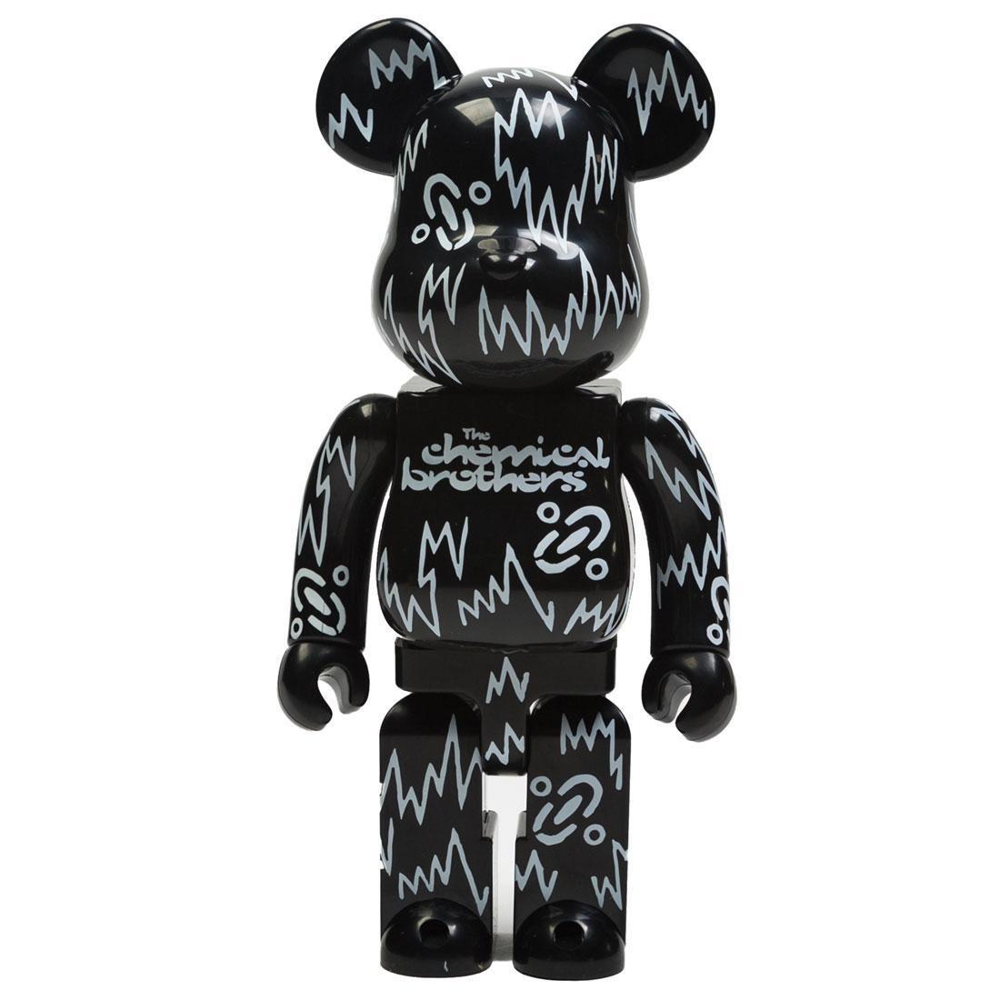Medicom The Chemical Brothers 400% Bearbrick Figure (black)