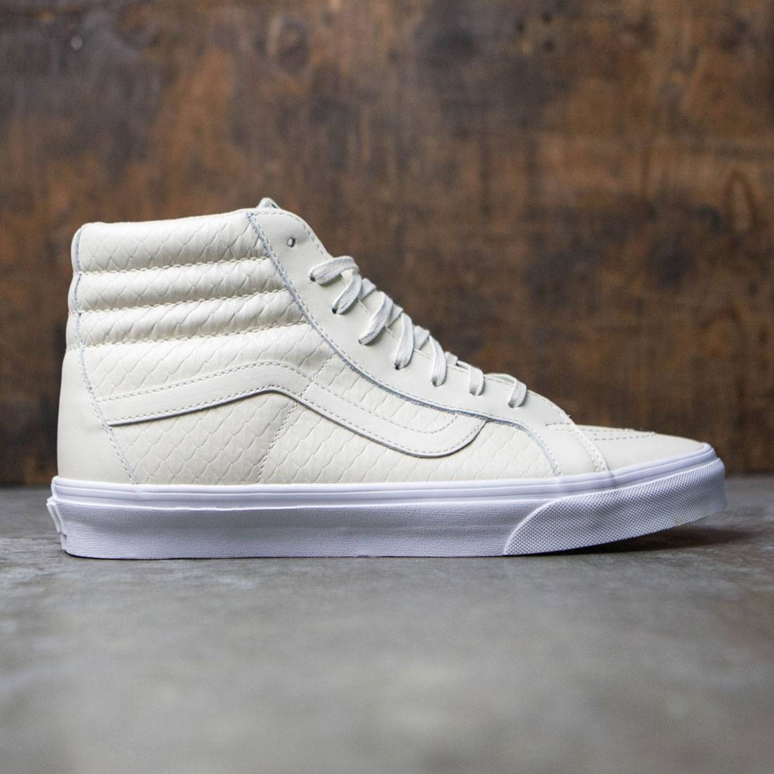 3cdfef68be1f Vans Men Sk8-Hi Reissue DX - Armor Leather white / turtledove