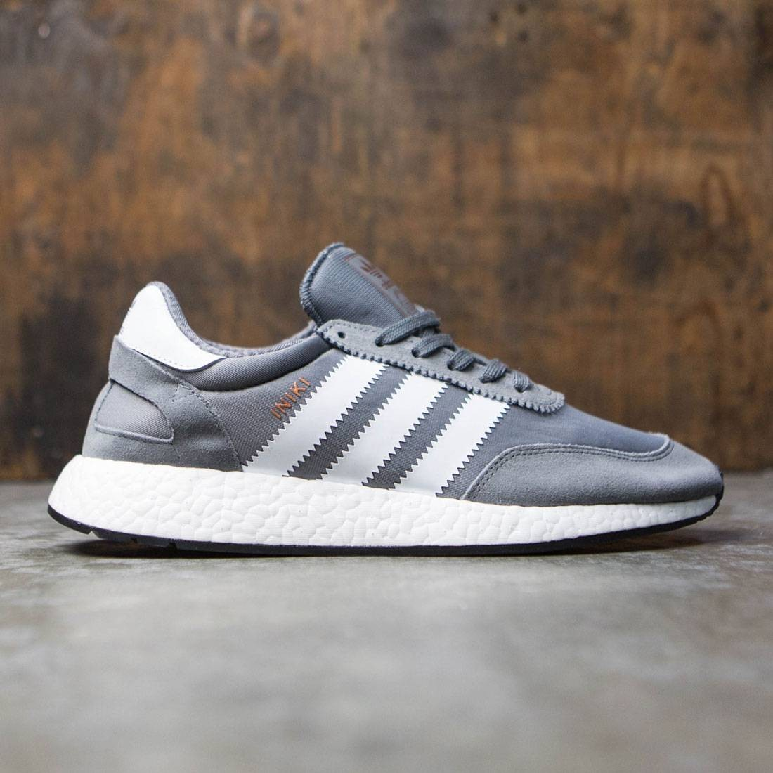 more photos 308cb b3356 Adidas Men Iniki Runner gray vista grey footwear white core