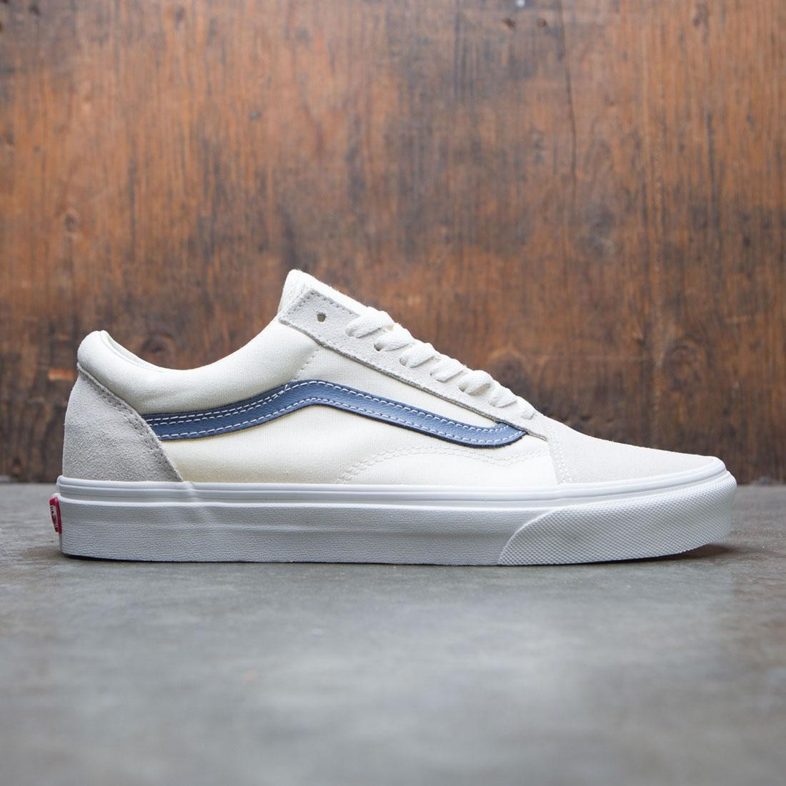 Vans Men Old Skool - Vintage (white / blue)