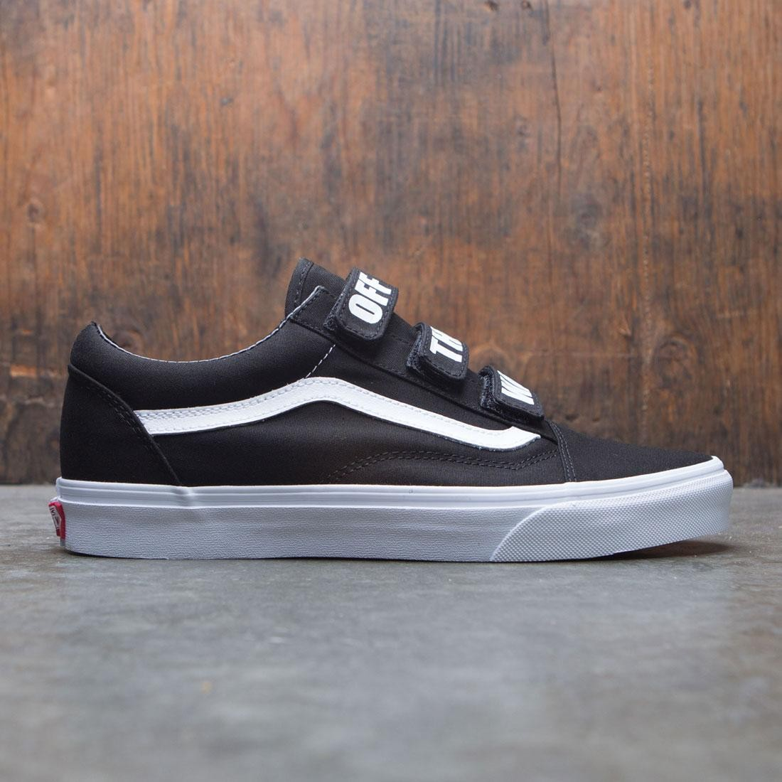 4ab0f273f4f9b6 Vans Men Old Skool V - Off The Wall black white
