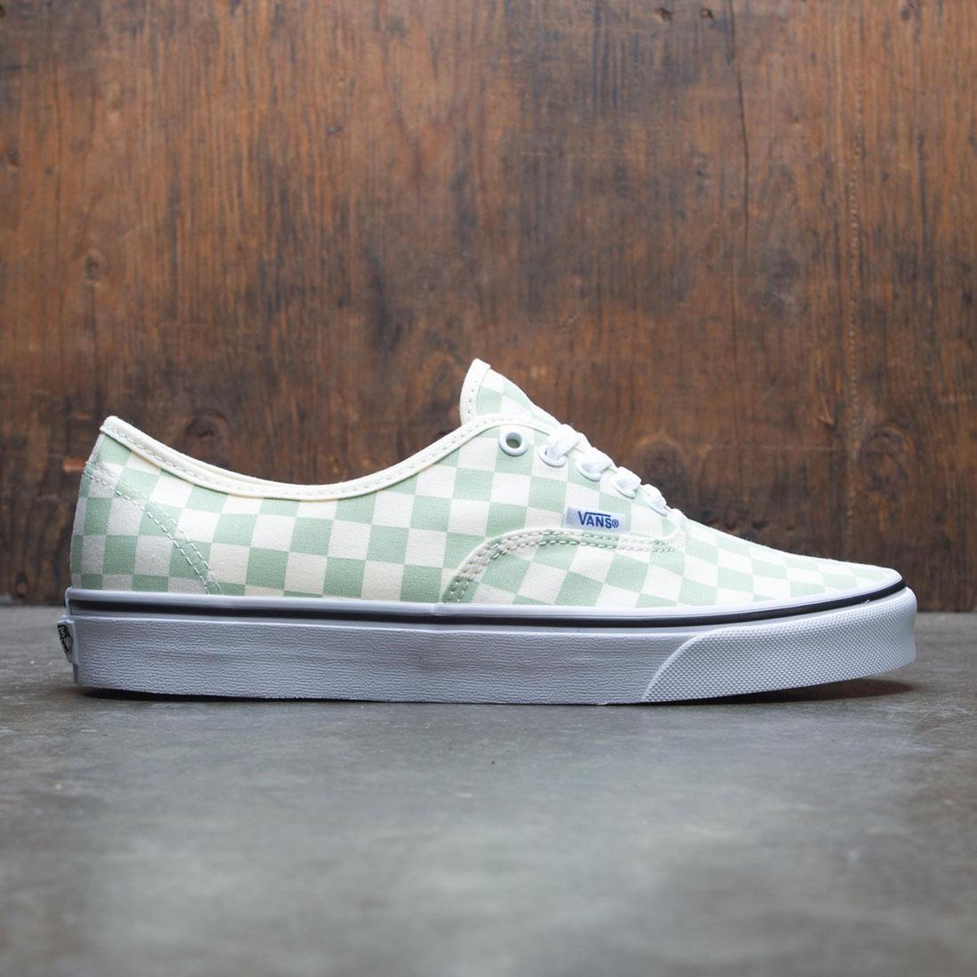 Vans Men Authentic - Checkerboard green ambros white d33d1c7df