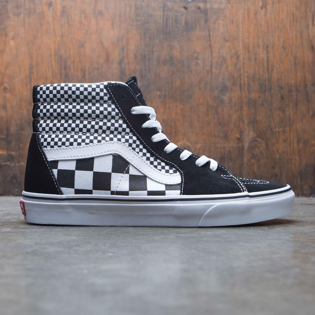 Vans Men SK8-Hi - Mixed Checkerboard black white 1028cdc9fe