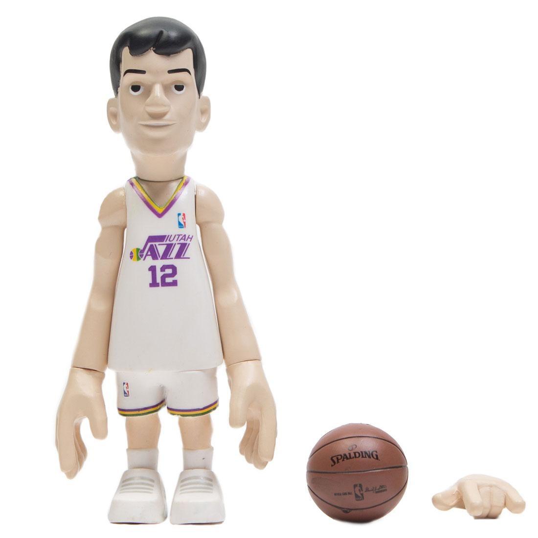 MINDstyle x Coolrain NBA Legends Utah Jazz John Stockton Figure (white)