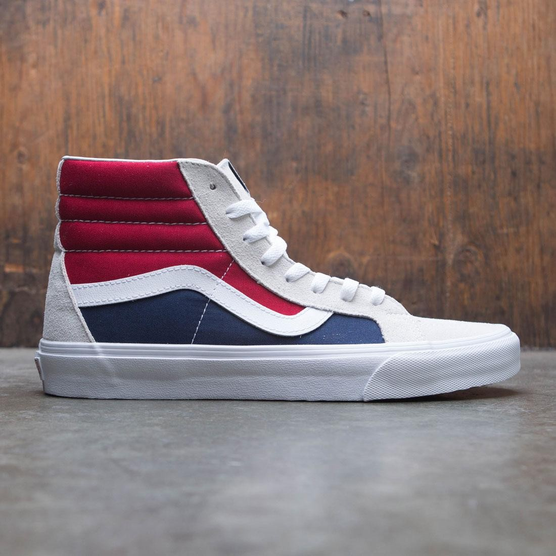 Vans Men SK8-Hi Reissue - Block red blue white fceafa5f6
