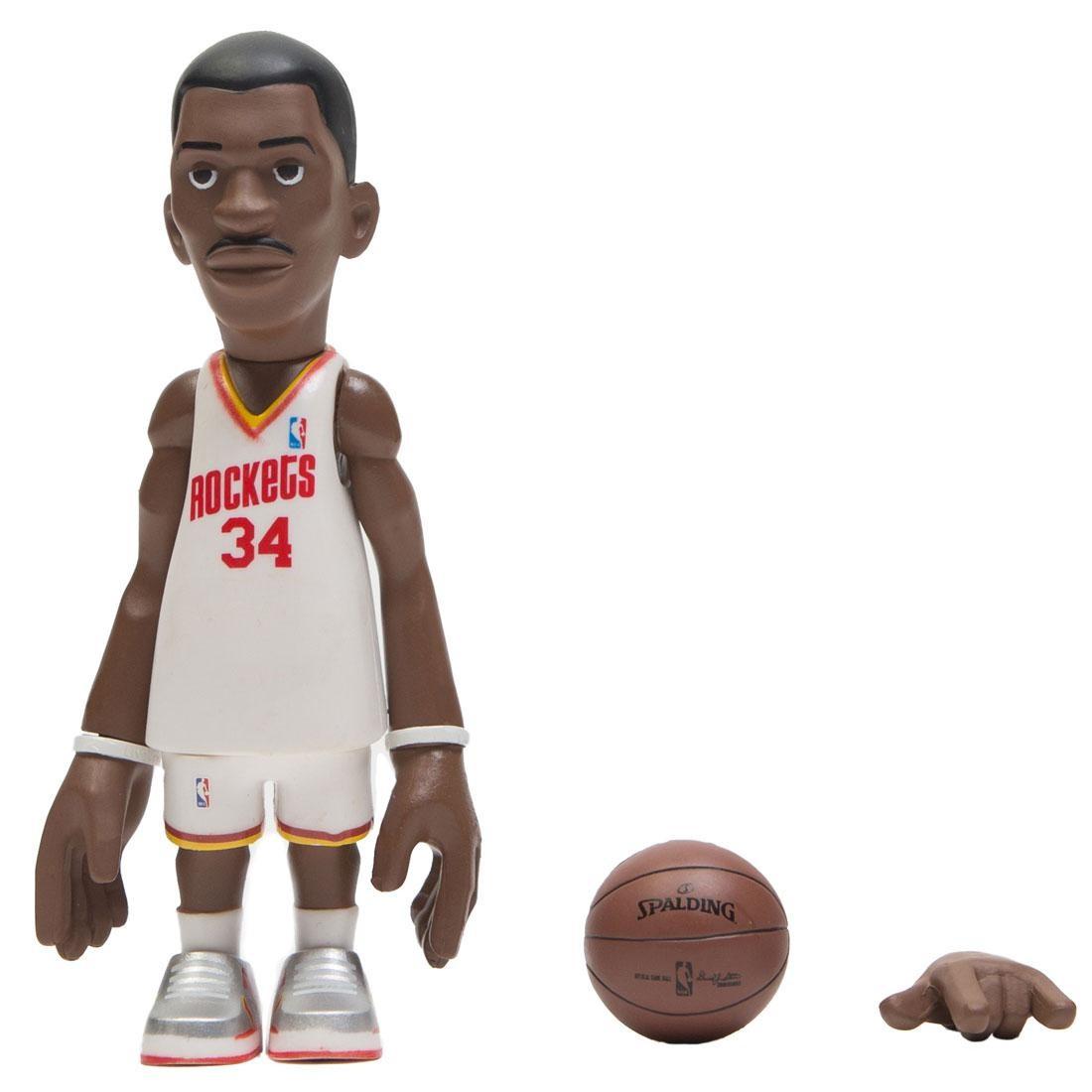 MINDstyle x Coolrain NBA Legends Houston Rockets Hakeem Olajuwon Figure (white)