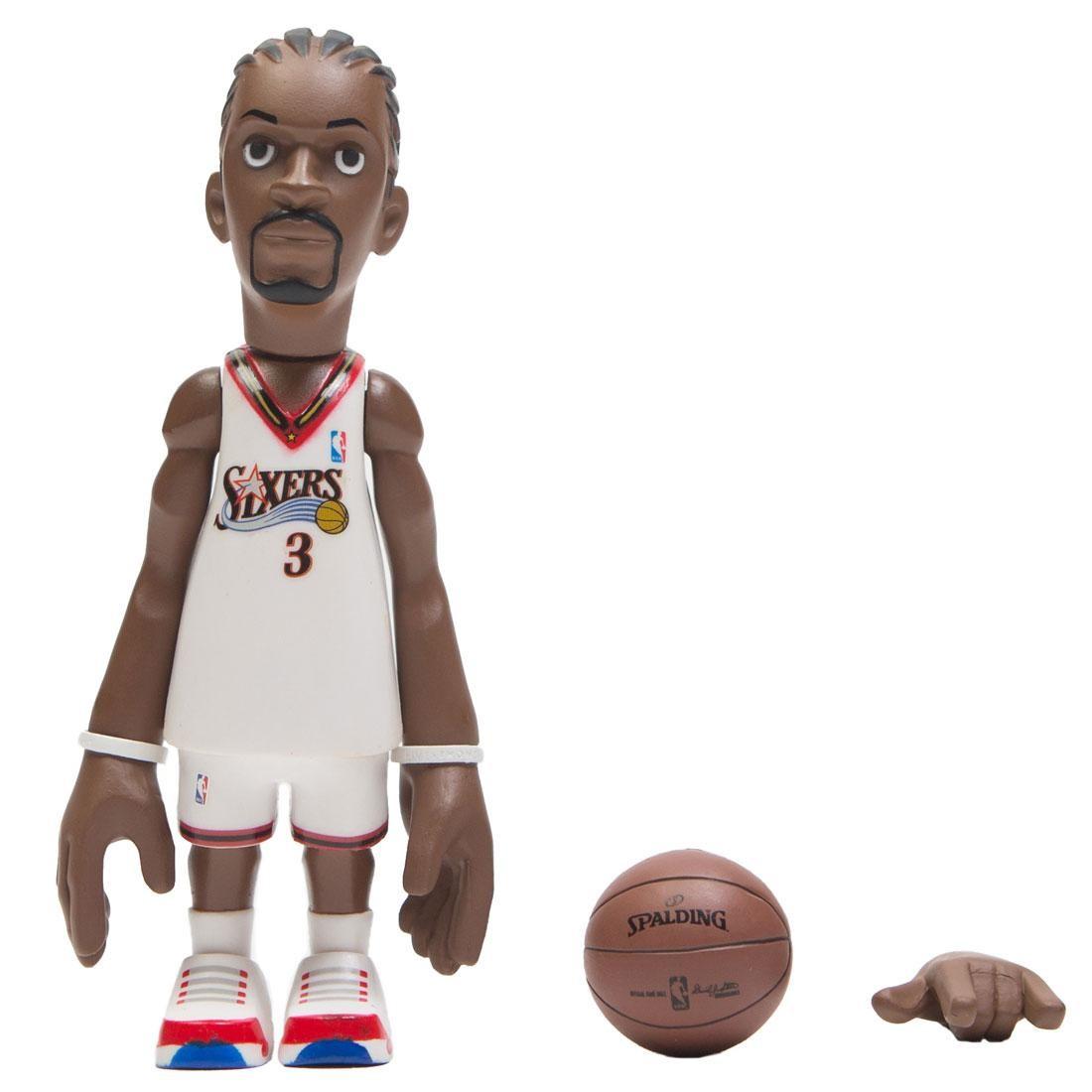 MINDstyle x Coolrain NBA Legends Philadelphia 76ers Allen Iverson Figure (white)