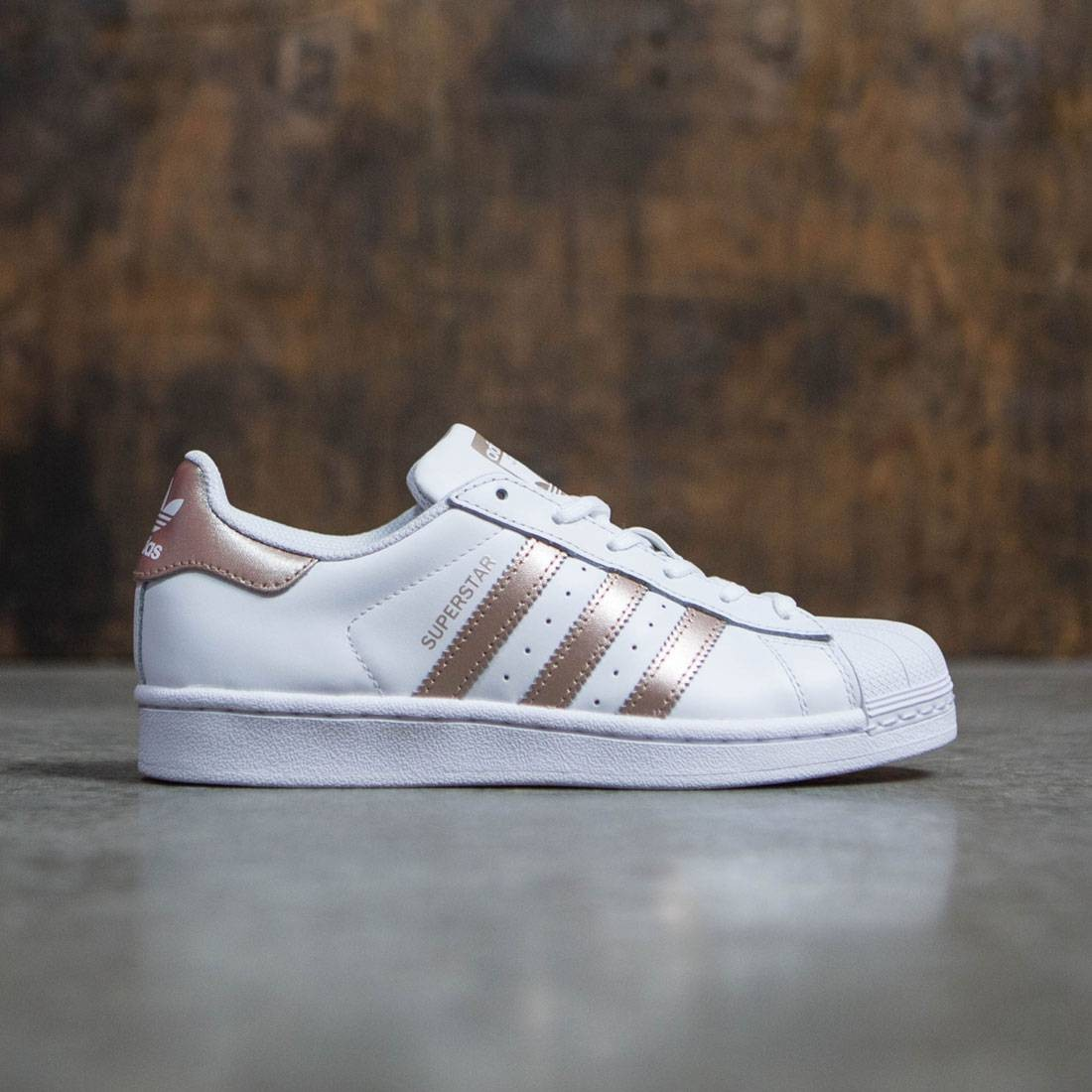 brand new af5d0 d3ab6 Adidas Women Superstar (white / rose gold / footwear white)