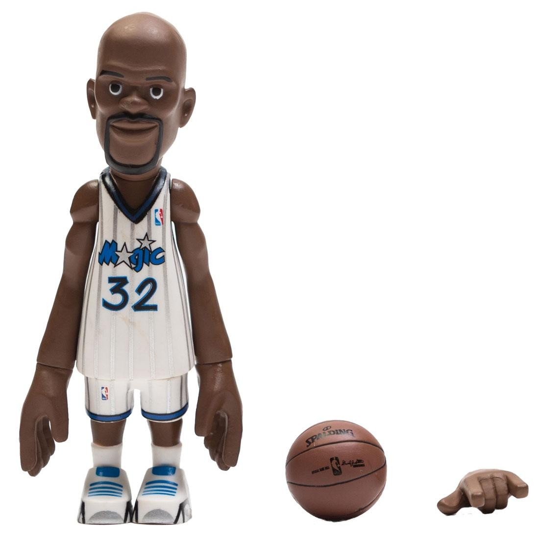 MINDstyle x Coolrain NBA Legends Orlando Magic Shaquille O'Neal Figure (white)