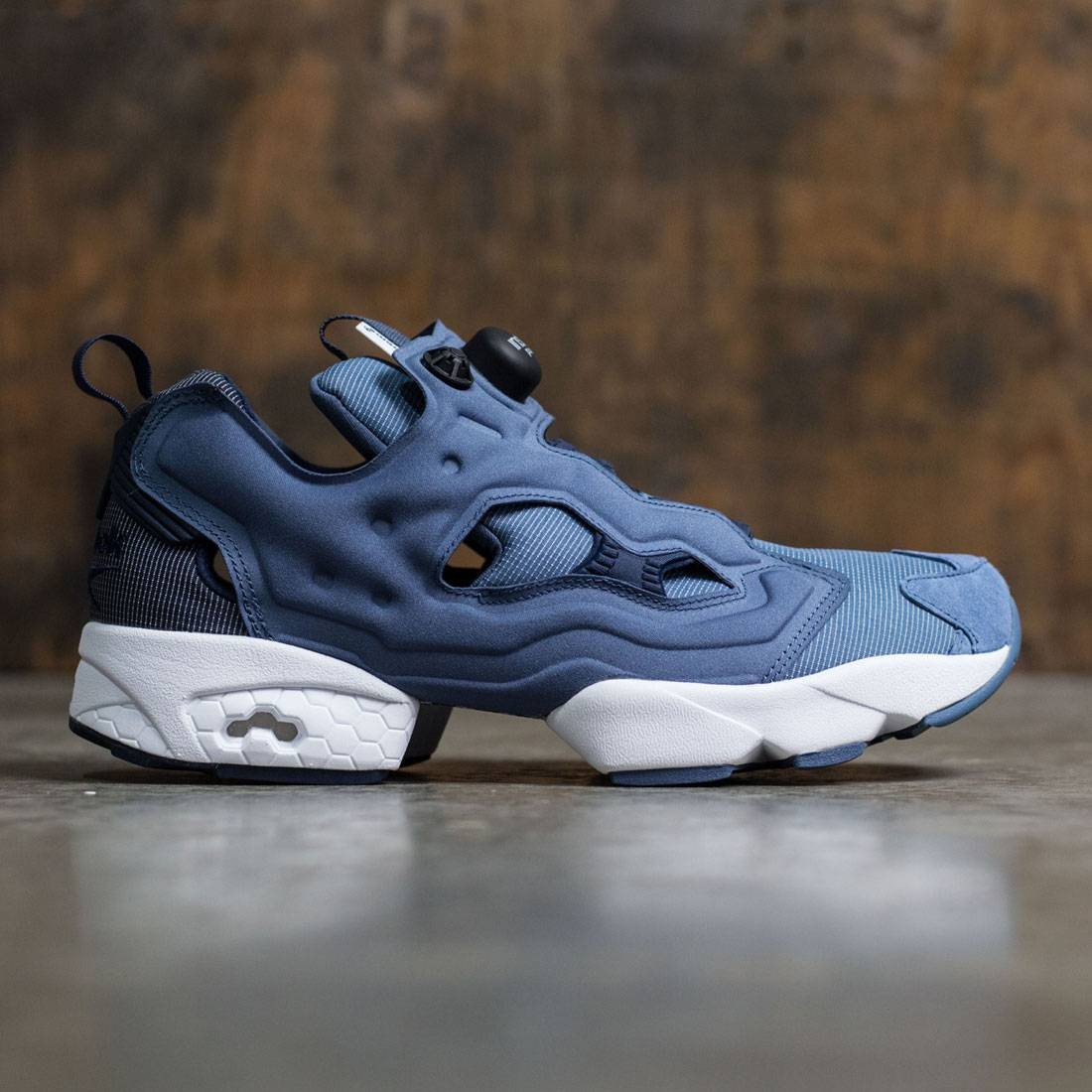 ff9c72a14964 Reebok Men InstaPump Fury Tech blue royal slate collegiate navy blue slate  white