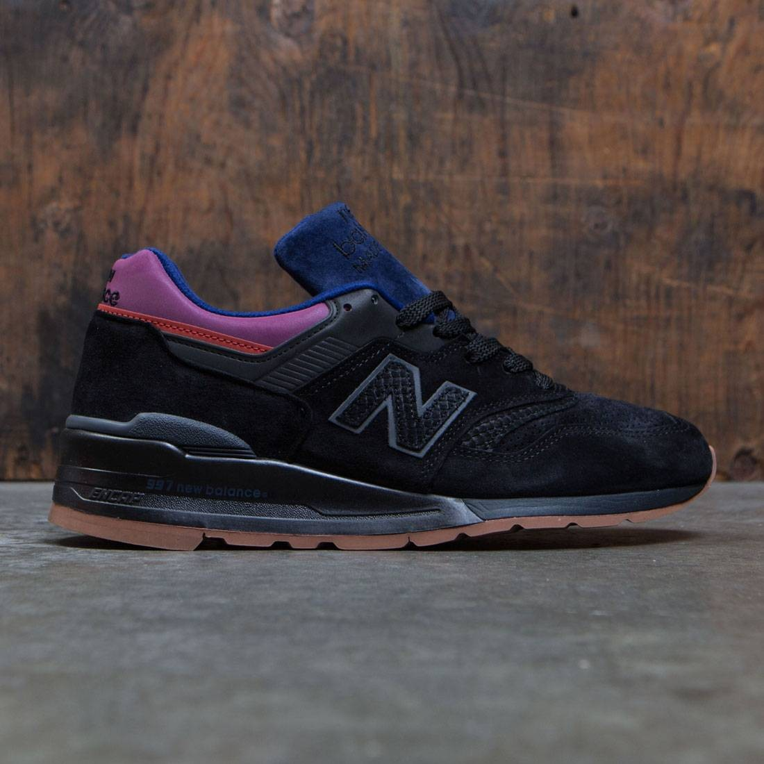 the latest 0437b 0baee New Balance Men 997 M997CSS - Made In USA (black / magnet)