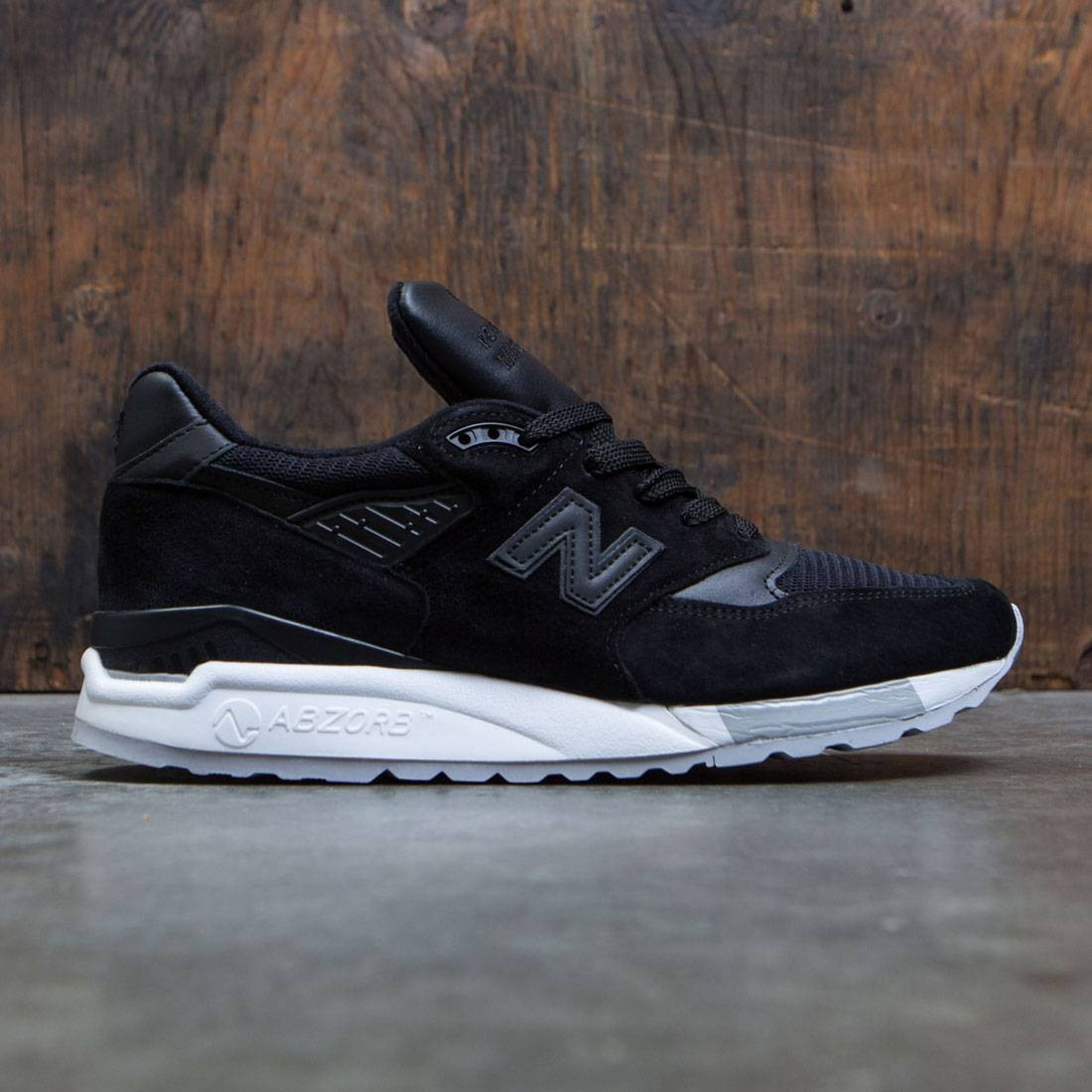 info for 412c0 dbf8a New Balance Men 998 M998NJ - Made In USA (black / grey)