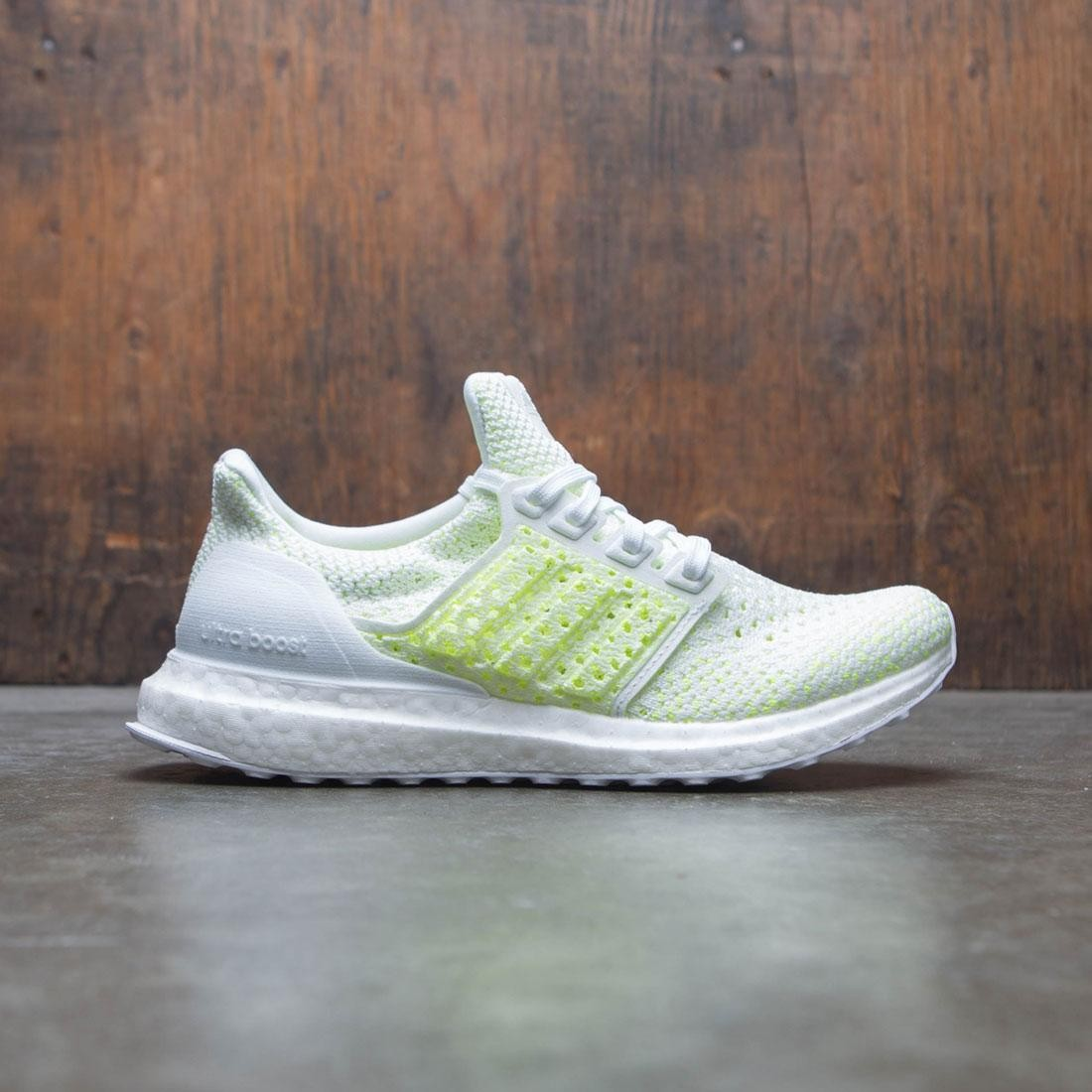 086c14495 Adidas Big Kids UltraBOOST Clima J white footwear white shock yellow