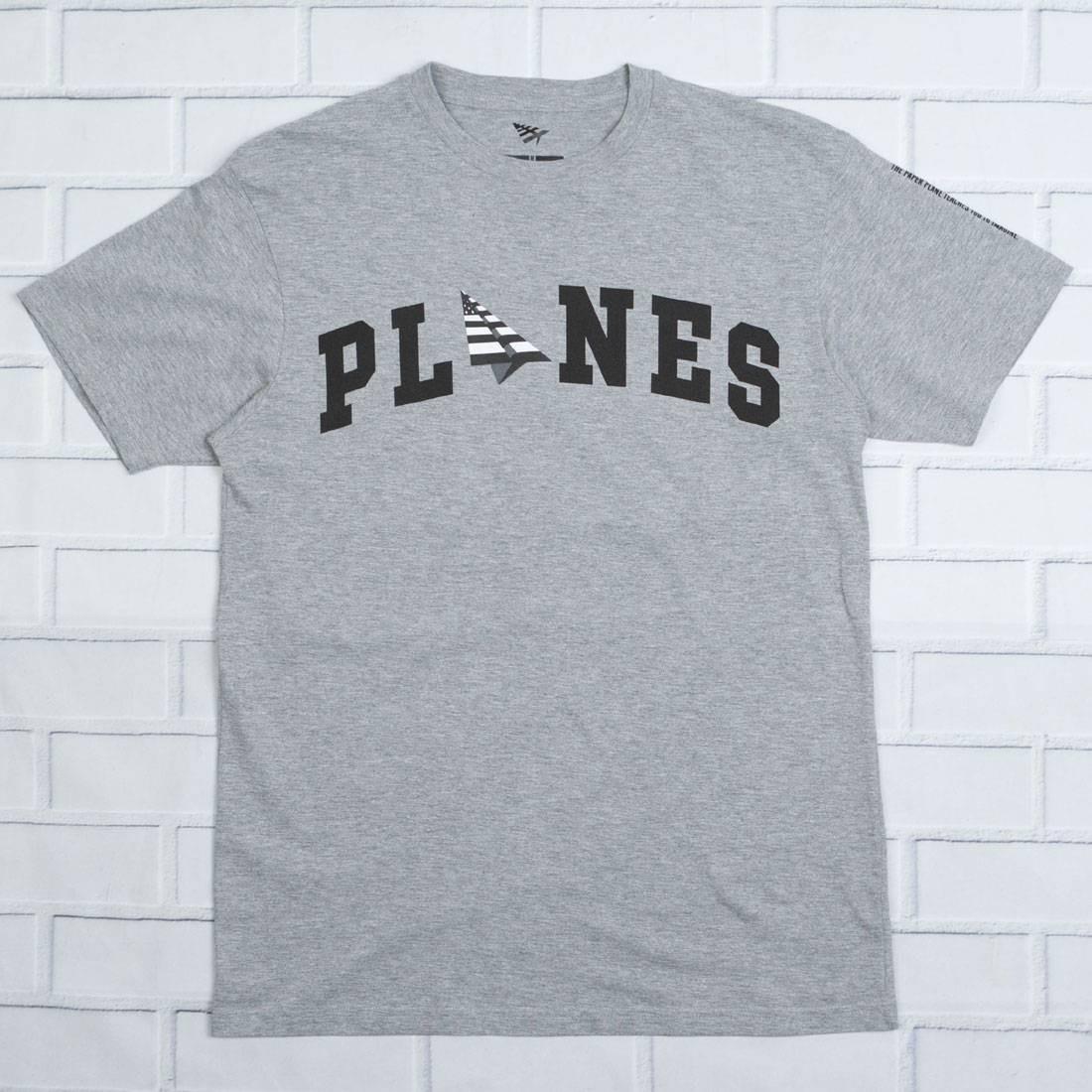 Paper Planes Men Lift Off Tee (gray / heather)