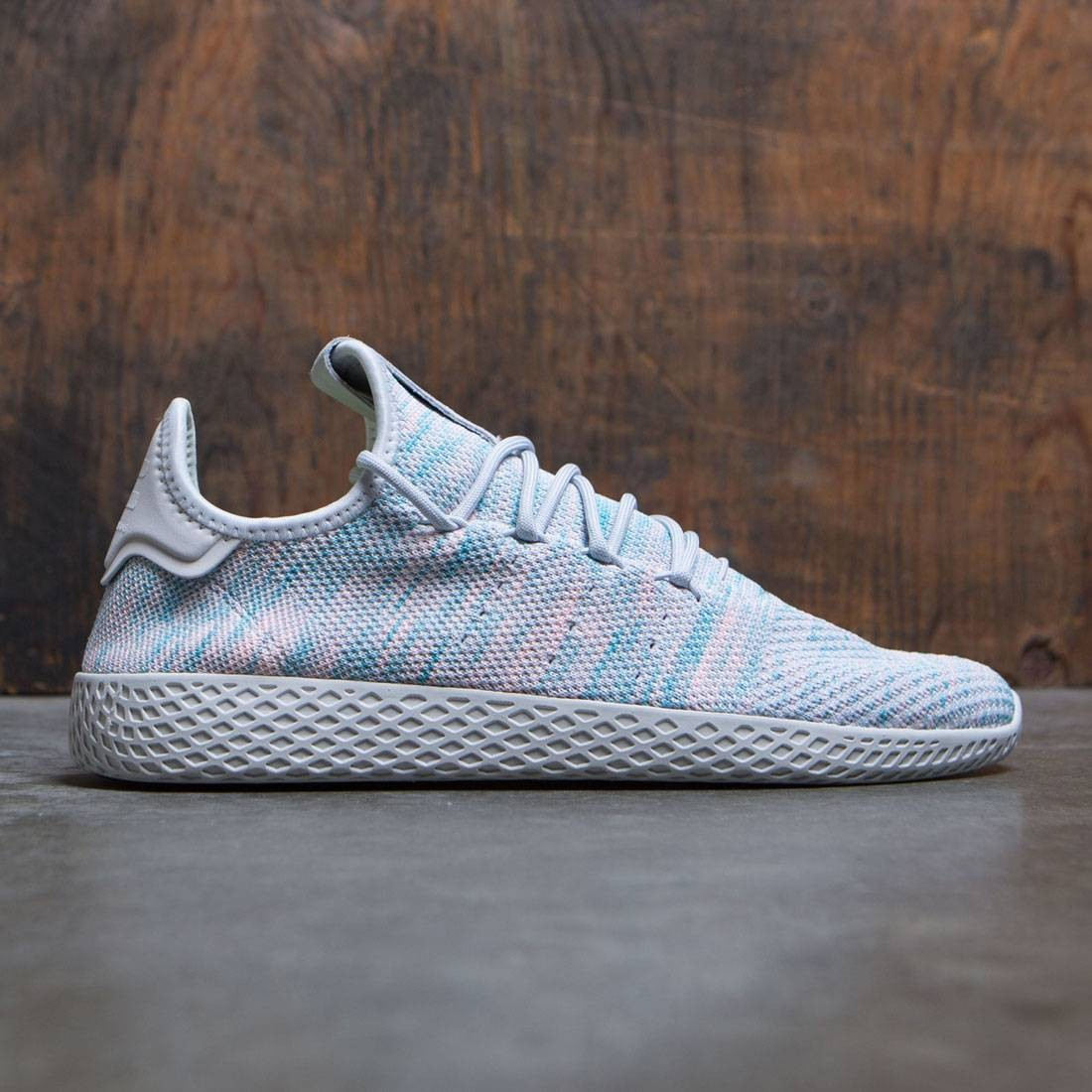 Adidas x Pharrell Williams Men Tennis HU (blue / noble ink / semi frozen yellow / core black)