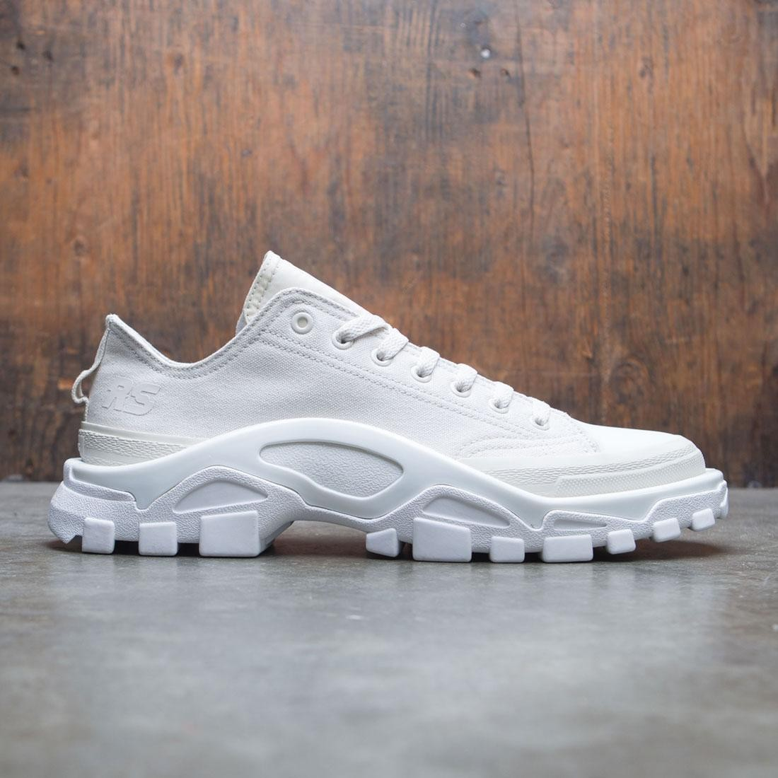 premium selection 98312 96f8b Adidas x Raf Simons Men Detroit Runner white talc footwear w