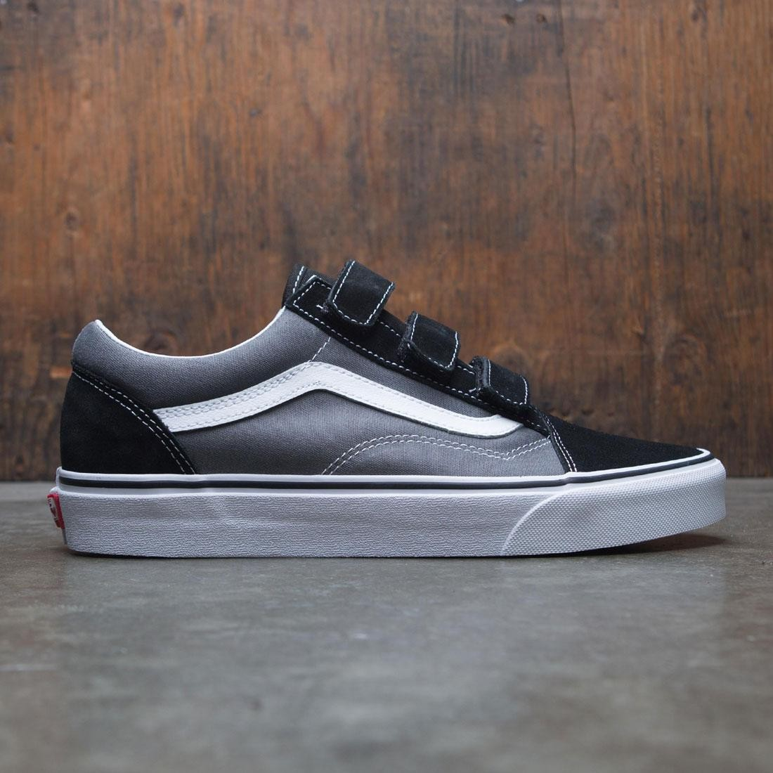 wholesale dealer Good Prices novel design Vans Men Old Skool V (gray / pewter / black)