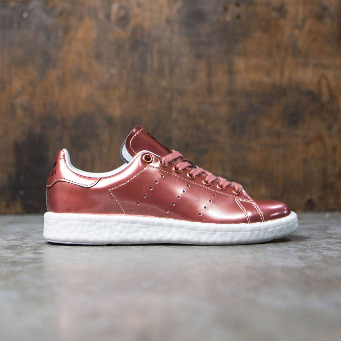 new product 16621 c92fc Adidas Women Stan Smith Boost W (bronze / copper metallic / footwear white)