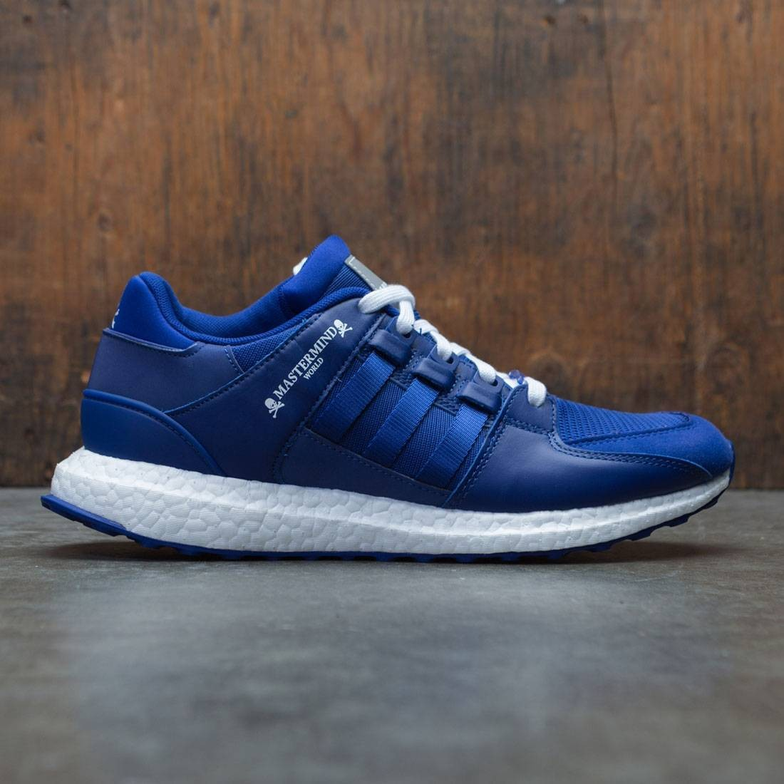 brand new 72624 920be Adidas x Mastermind World Men EQT Support Ultra (blue / mystery ink /  footwear white)