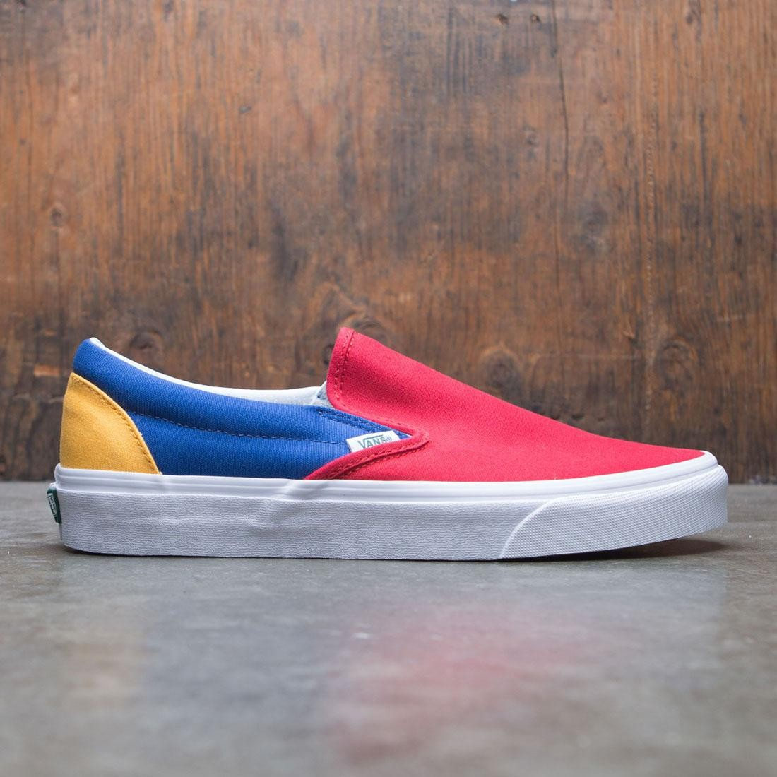 Vans Men Classic Slip-On - Yacht Club red blue eabf8bd60