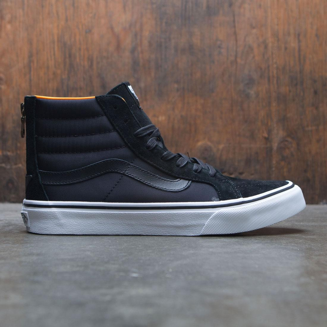 cb280ec5f9 Vans Men SK8-Hi Slim Zip - Boom Boom black