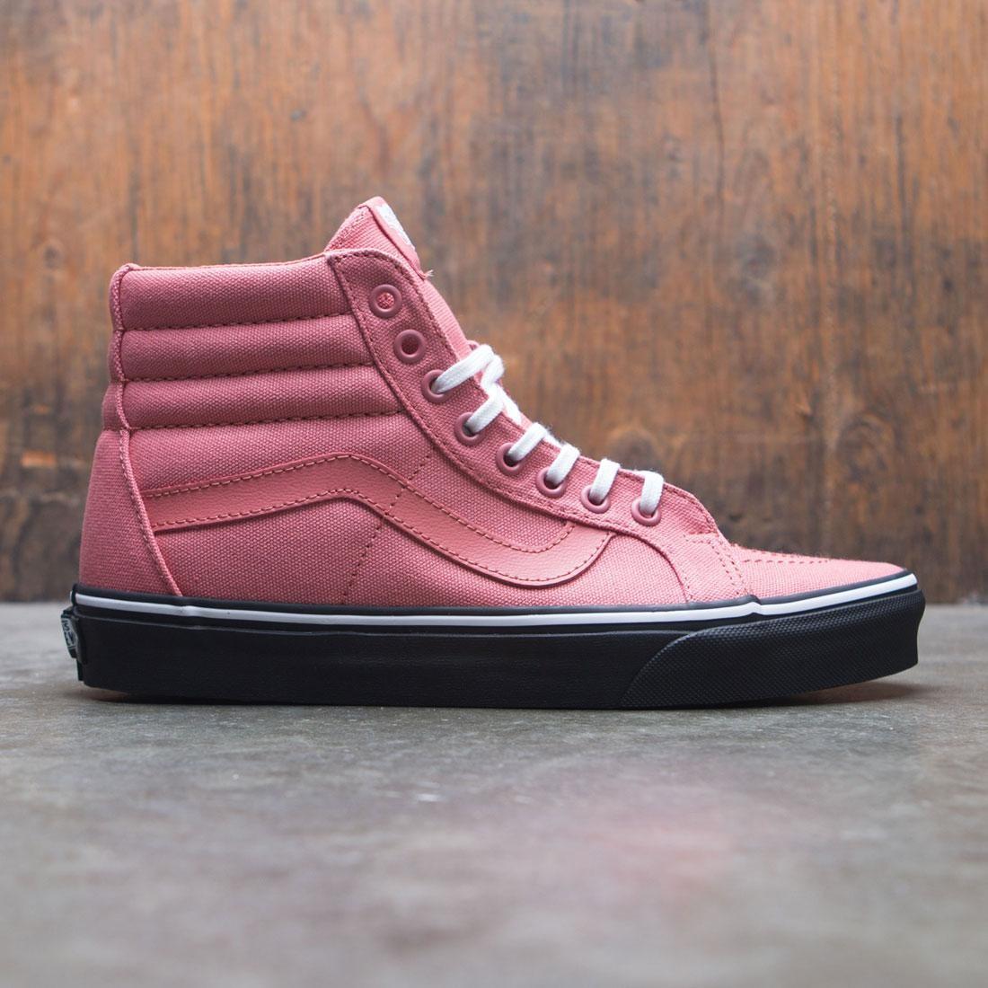 2563149328 Vans Men SK8-Hi Reissue - Black Outsole pink faded rose black