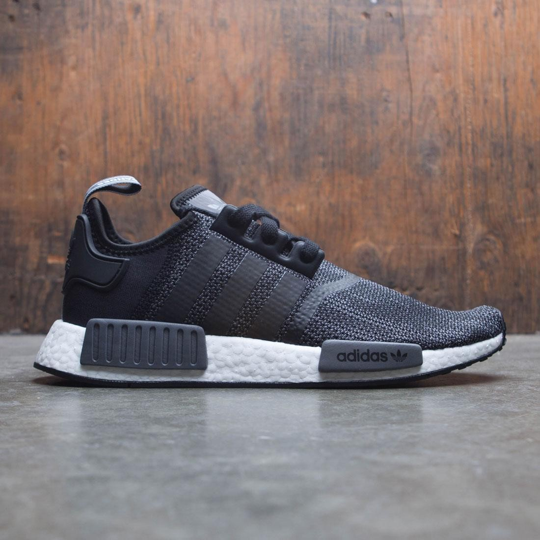 lowest price a3b2f dd36b Adidas Men NMD R1 (black / carbon / footwear white)