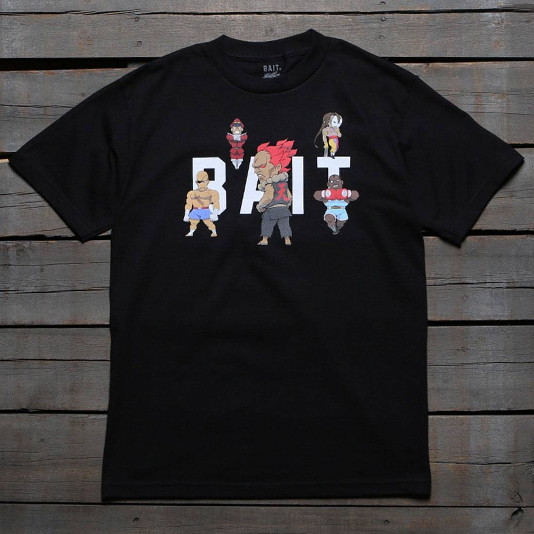 BAIT x Street Fighter Men Chibi Boss Tee (black)