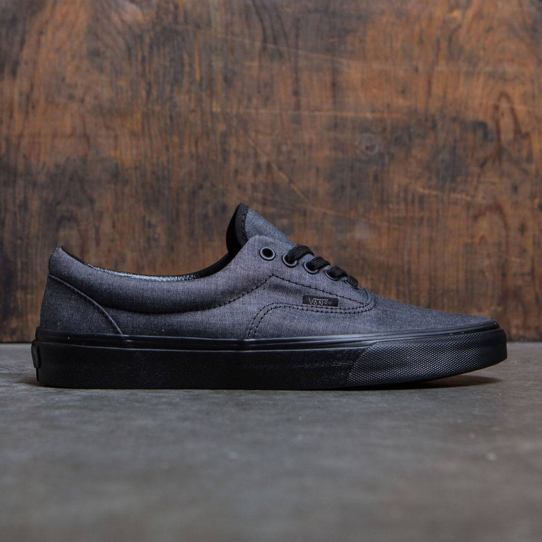 Vans Men Era (black / mono chambray)