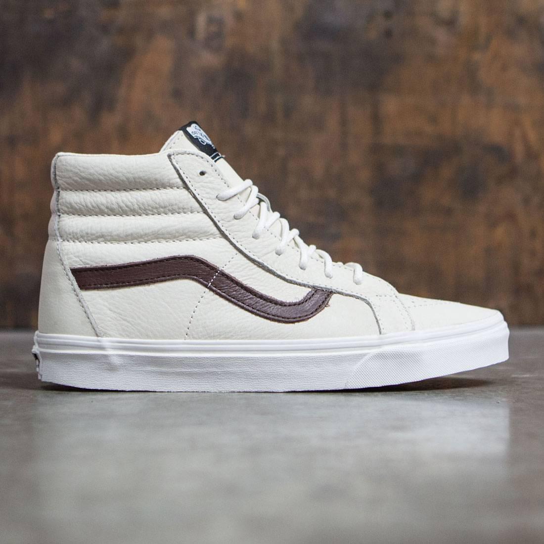 vans beige white