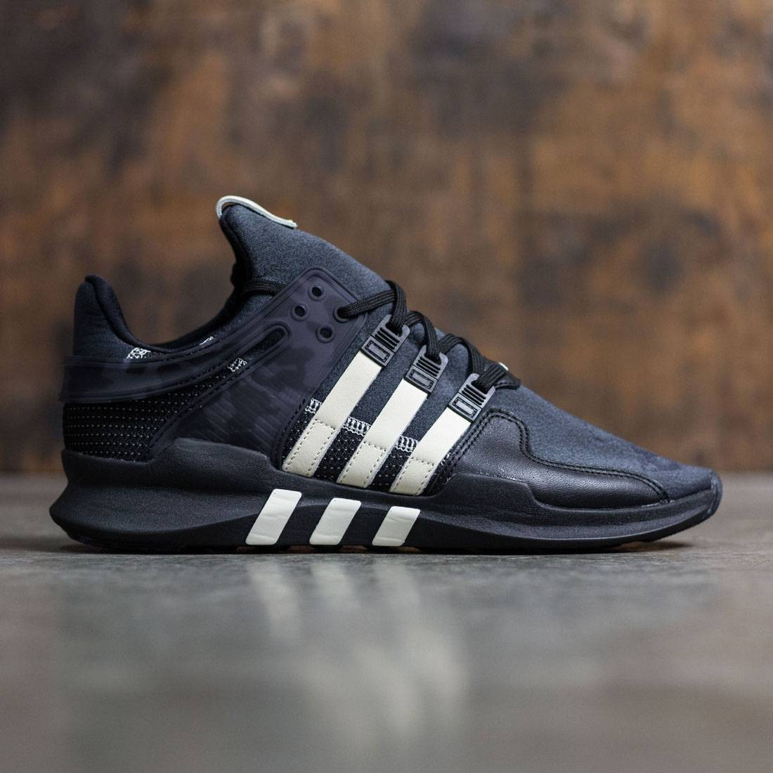 outlet store c0906 4c04c Adidas Consortium x Undefeated Men EQT Support ADV (black / footwear white  / core black)