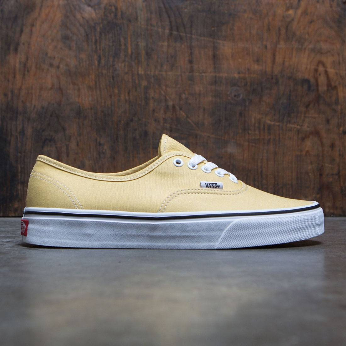 Vans Men Authentic (yellow / dusky citron)