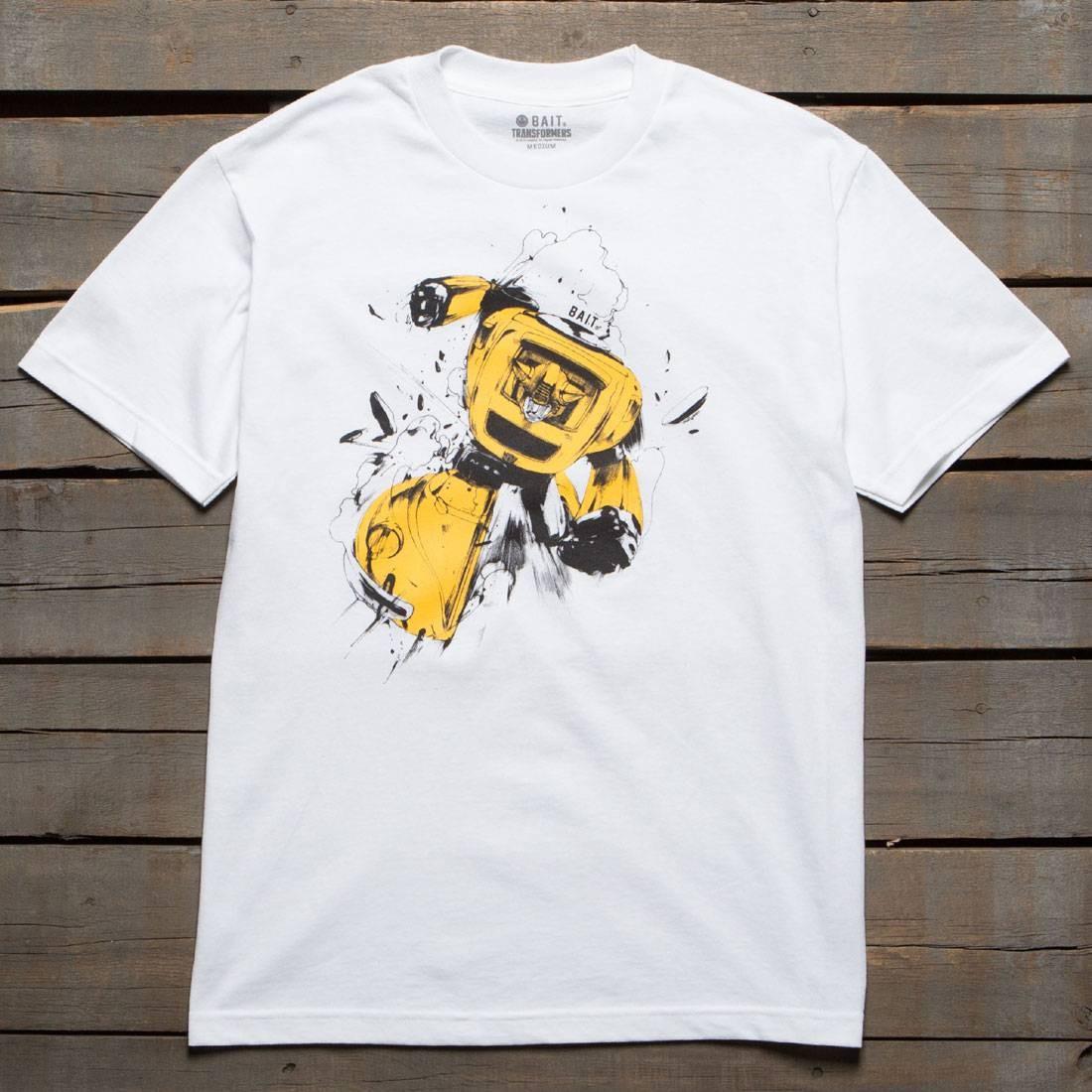 BAIT x Transformers Men Bumblebee Tee (white)