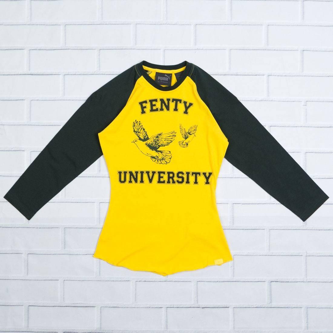 Puma x Fenty By Rihanna Women Crew Neck Baby Tee (yellow / lemon)