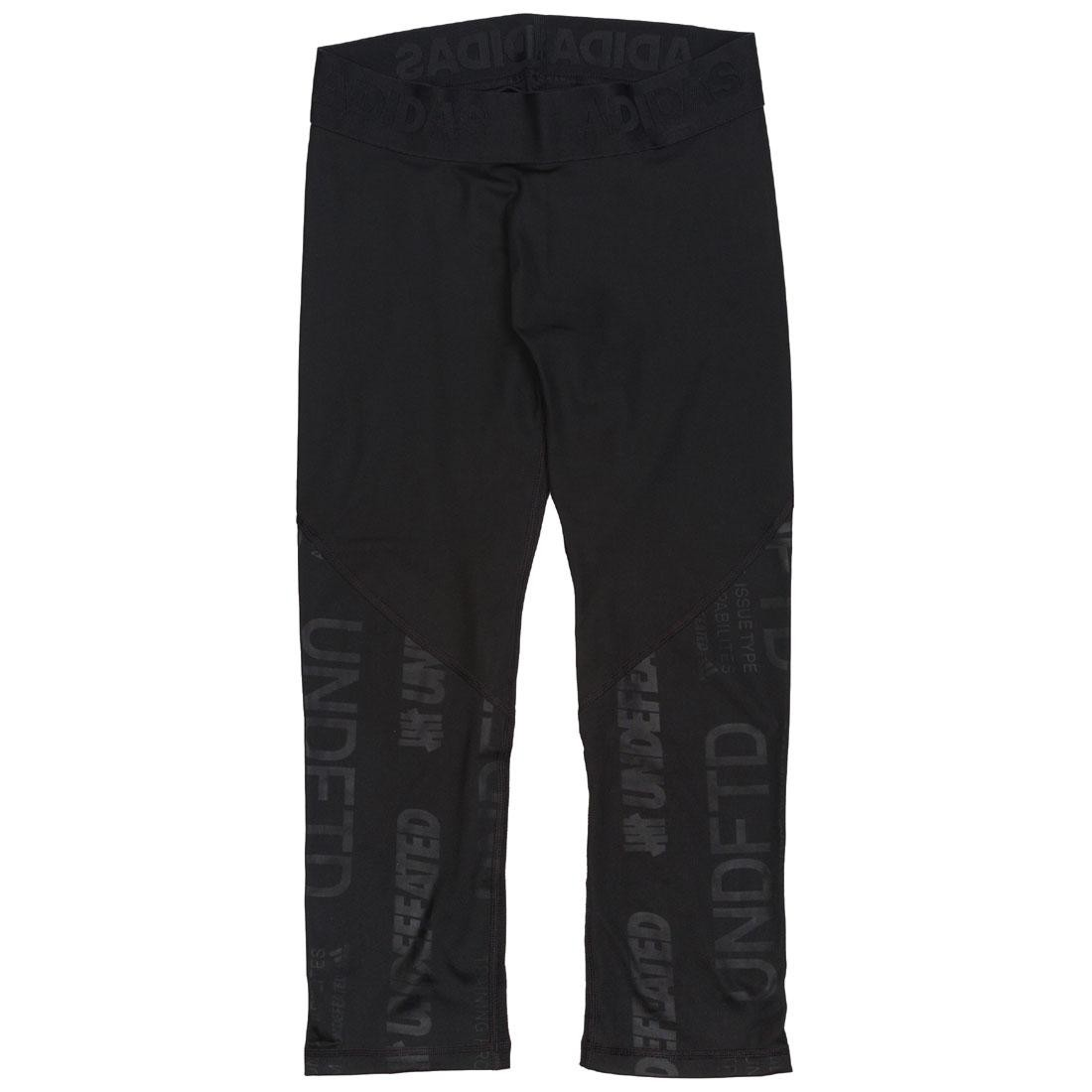 Adidas x Undefeated Men Alphaskin Tech 3/4 Tights (black)