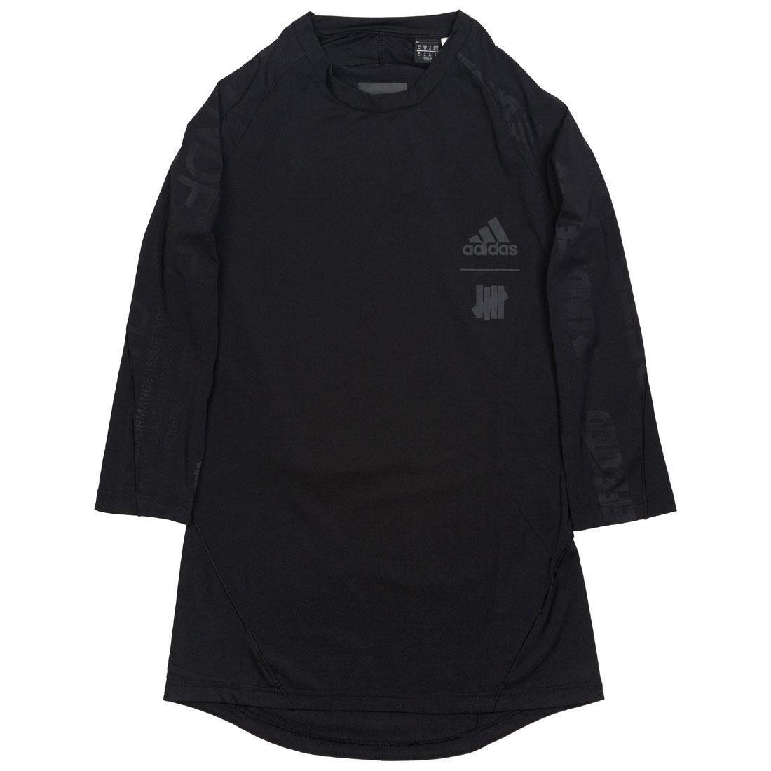 Adidas x Undefeated Men Alphaskin Tech 3/4 Tee (black)