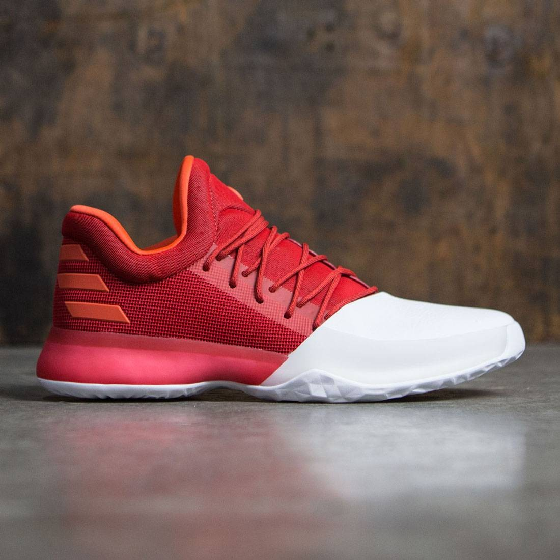 c6c9f96162a Adidas Men Harden Vol. 1 (red   scarlet   footwear white   energy)
