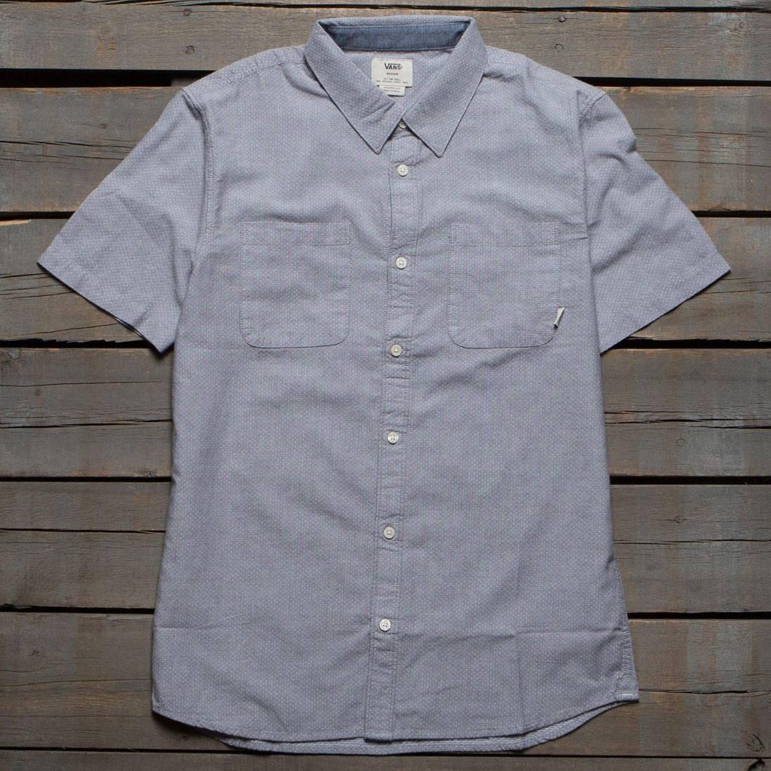 Vans Men Pierson Woven Shirt (gray / gravel)