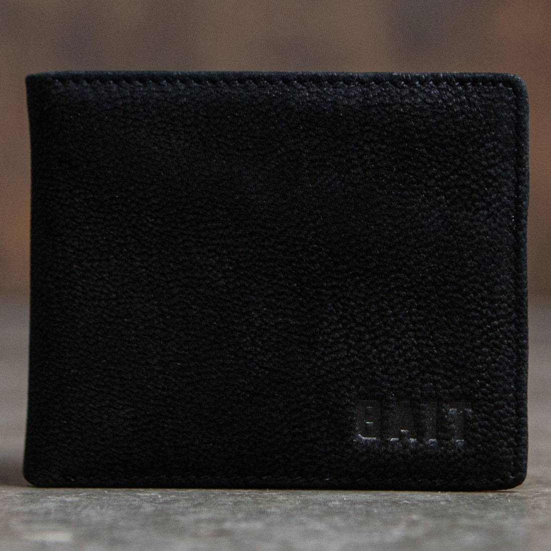 BAIT Nubuck Leather Wallet (black)