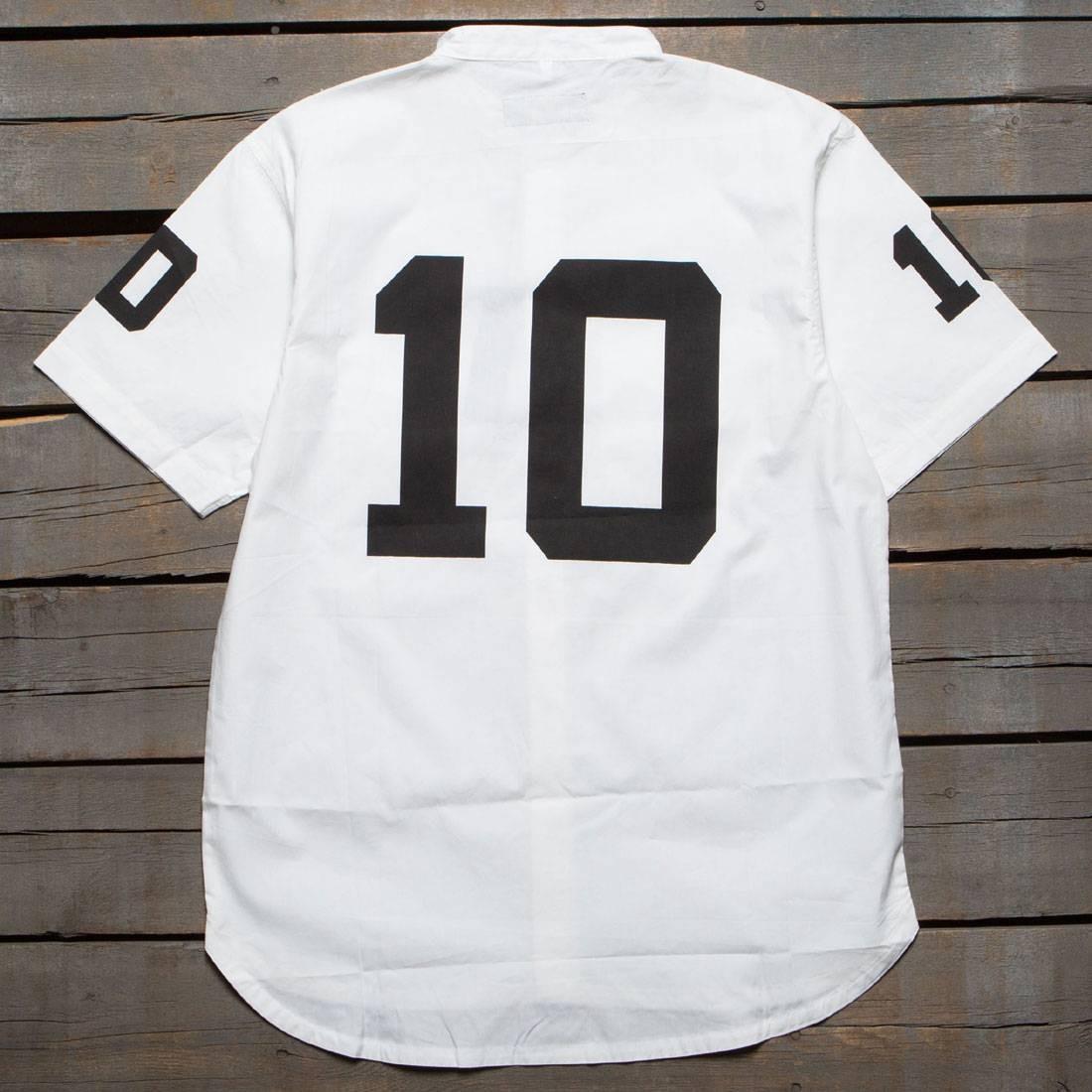 10 Deep Men Big 10 Button Up Shirt (white)