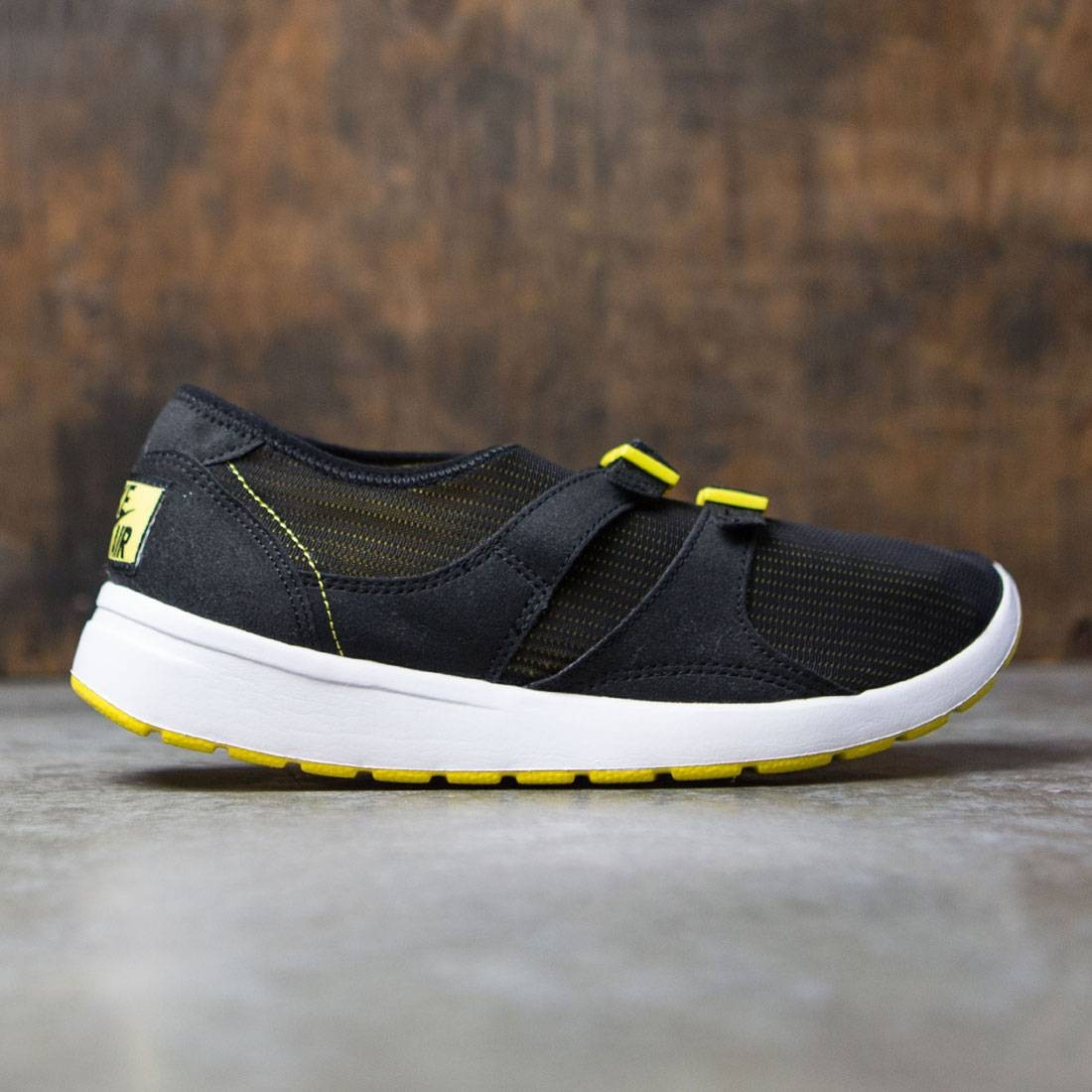 5c0f128917da nike men air sock racer og black black tour yellow white