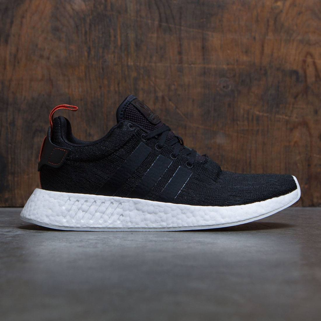 ae2da3e277d06f Adidas Men NMD R2 black core black future harvest